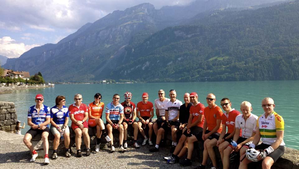Alpenbrevet Guest Review | Neill Weir | Lake Brienz