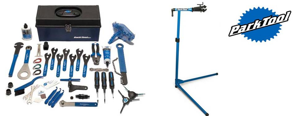 We have the highest quality Park Tool professional bike tools available to you when building up your bike and dismantling it for your journey home.