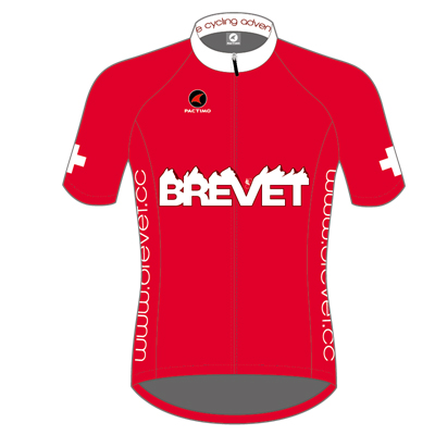 Brevet Cycle Clothing Mens Ascent Short Sleeve Jersey