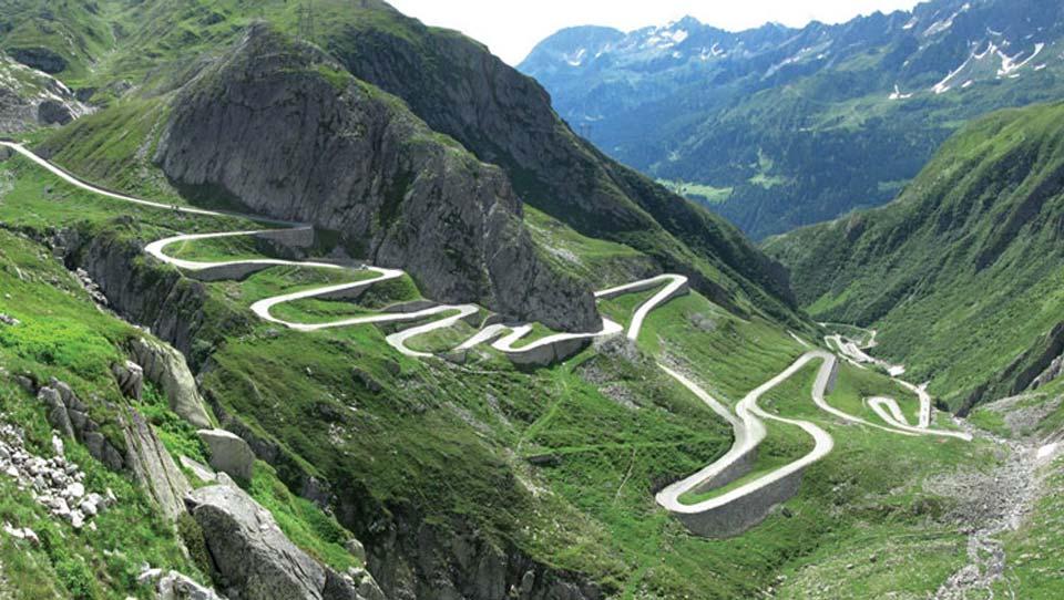Col du St Gothard | Cycling In Switzerland