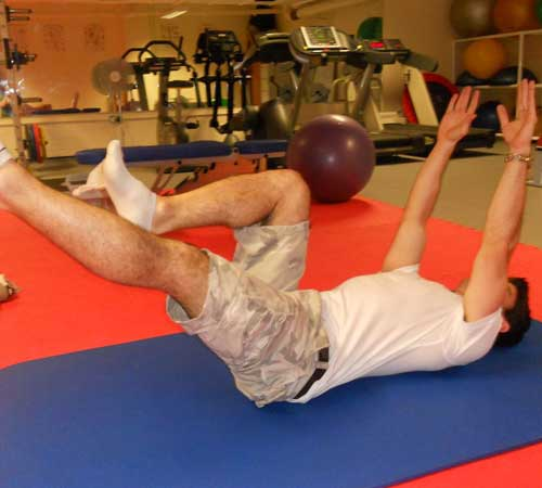Core Exercises for Cycling - Dead Bugs Finish