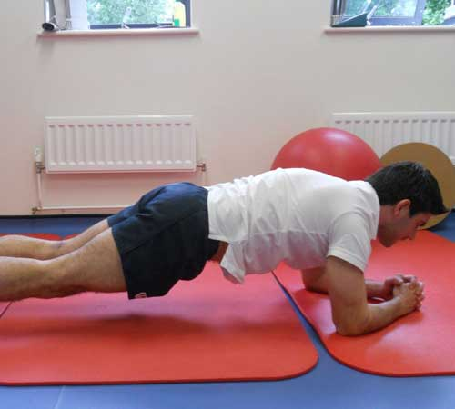 Core Exercises for Cycling - Plank