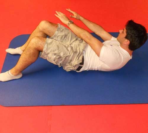 Core Exercises for Cycling - Twisting Crunch