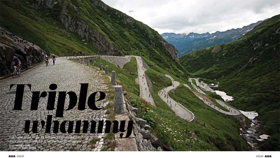 Cyclist Magazine | Granfondo Gottardo Review | Tripple Whammy