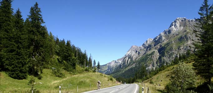 The Col du Pillon (1,546m) features on our Cyclotour du Léman holiday