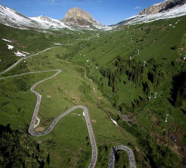Maratona dles Dolomites | Passo Pordoi