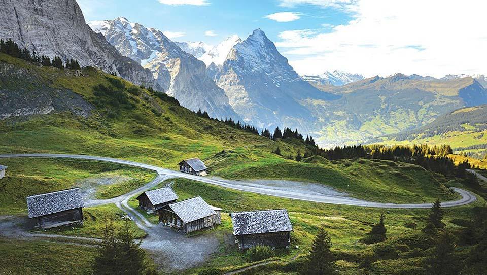 Mountain Higher   Grosse Scheidegg