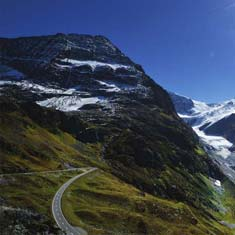 Susten Pass Cycling in Switzerland