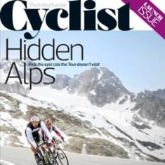 Cyclist Magazine Hidden Alps | Front Cover