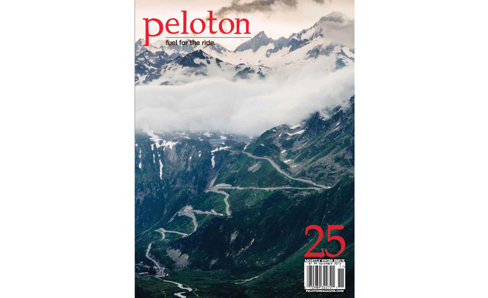 Page Cover Peloton Magazine Alpenbrevet 2013 | Brevet Cycling Holiday Review