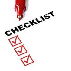 Sportive Checklist